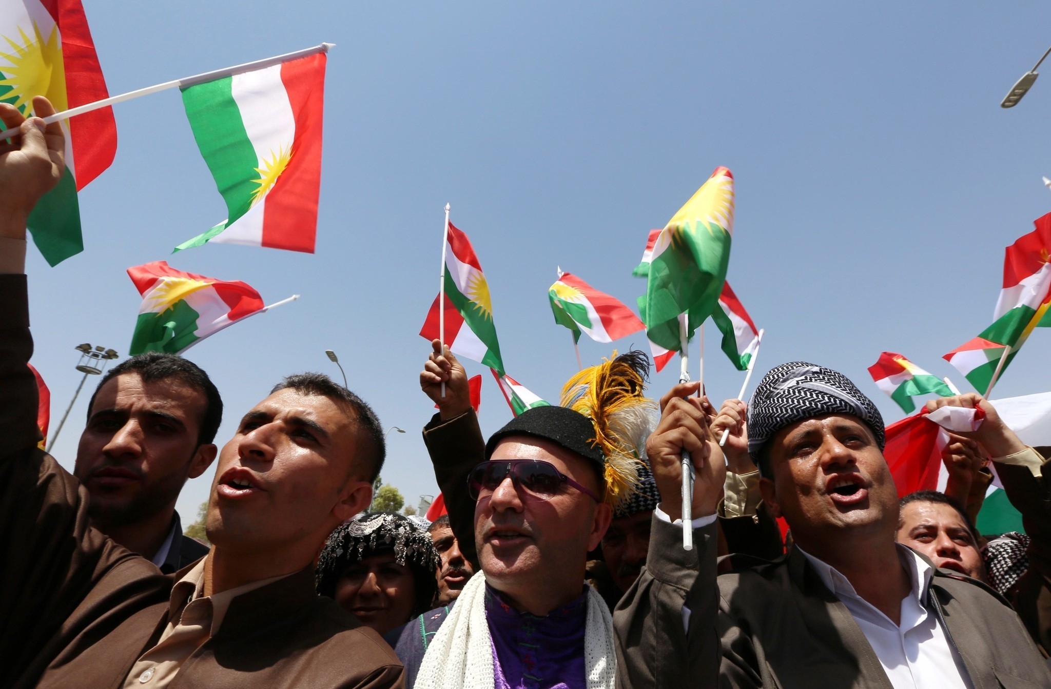 'Yes to knowing Kurds exist': referendum rally draws crowds in Geneva